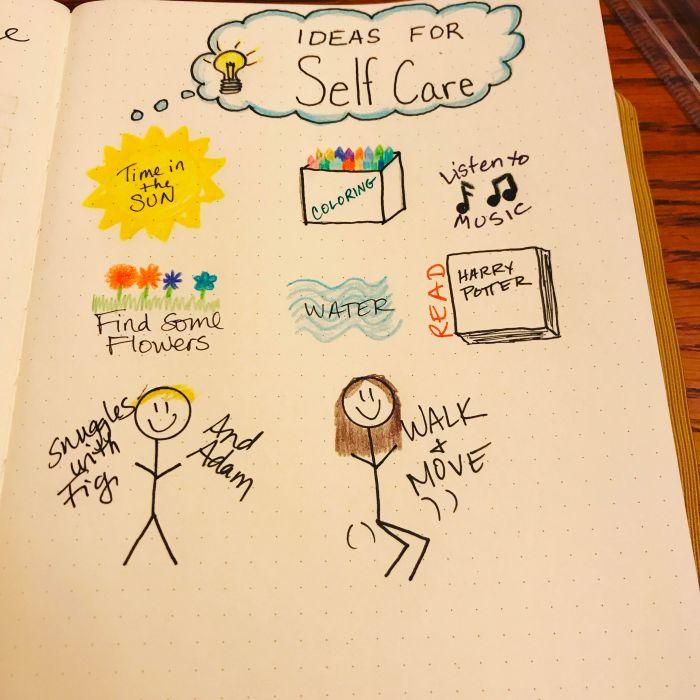 5-17 bujo self care